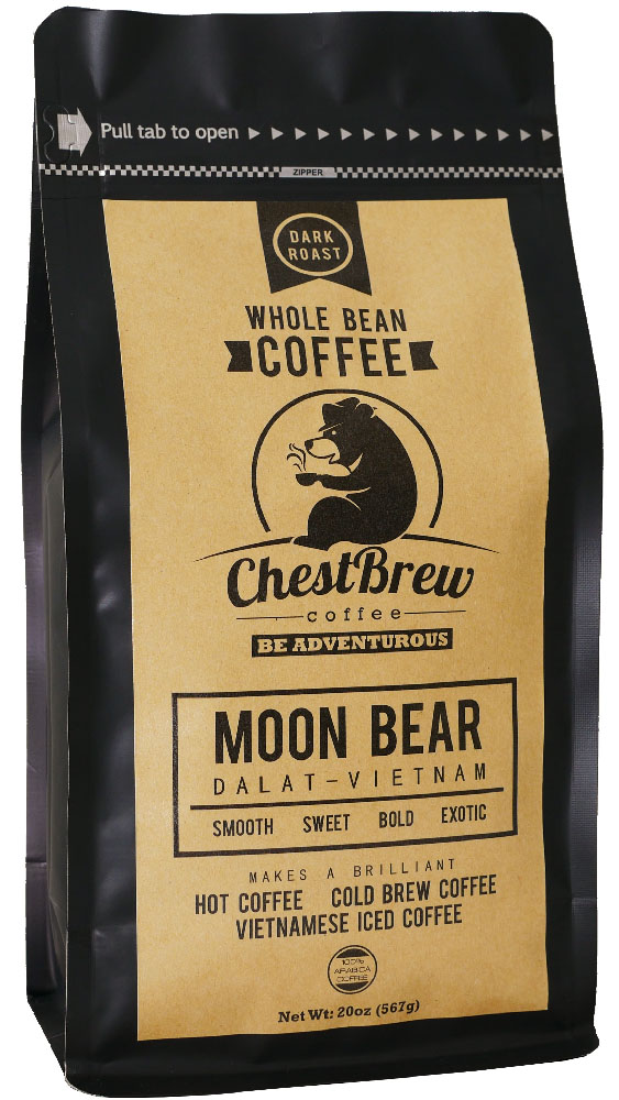 ChestBrew Whole Beans Coffee Front