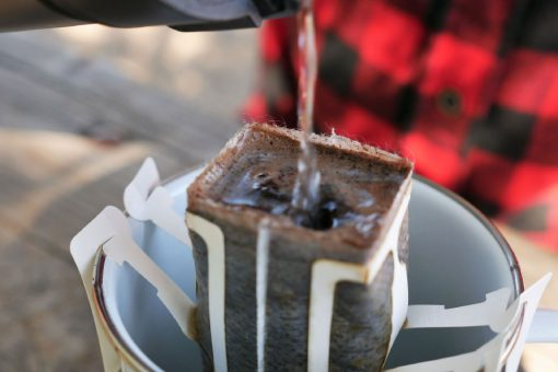 ChestBrew POP (Pour Over Coffee Pouch) Vietnamese Coffee. Dark Roast. Strong and Made for Hard Work