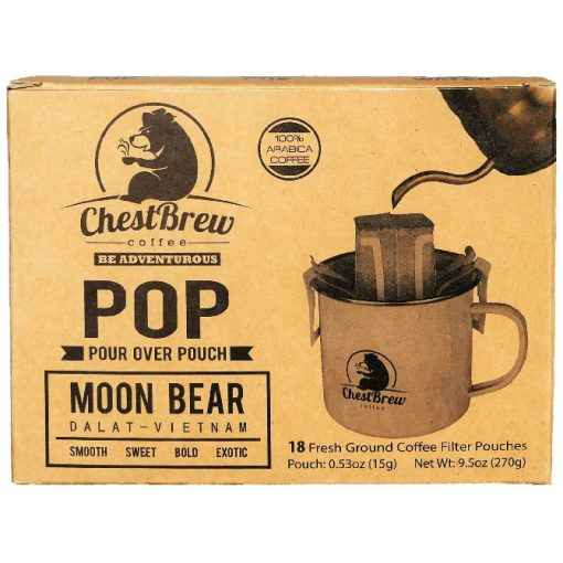 ChestBrew POP (Pour Over Coffee Pouch)