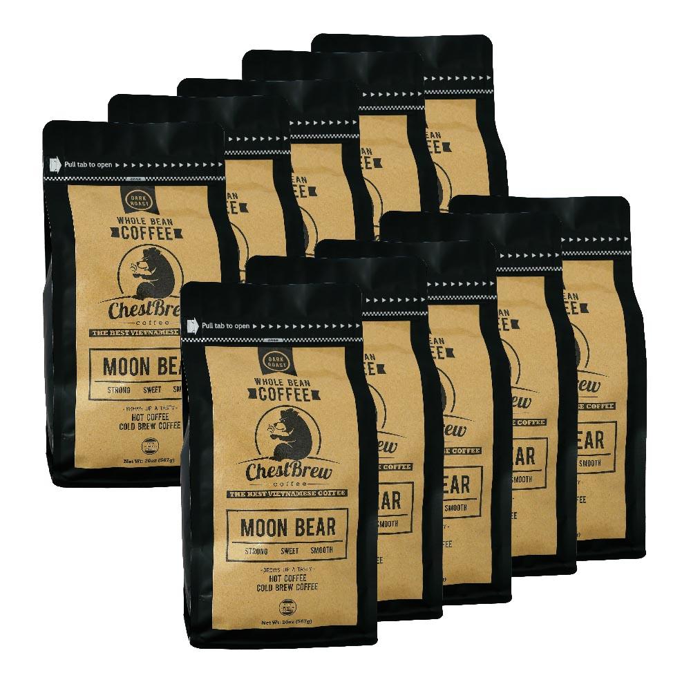 10 bags of Moon Bear Coffee