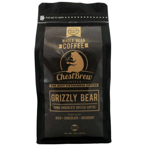 Grizzly-Bear Coffee Front