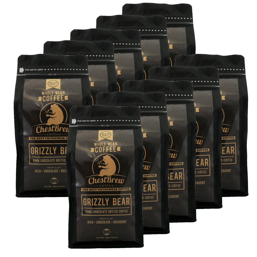 10 Bag Grizzly Bear