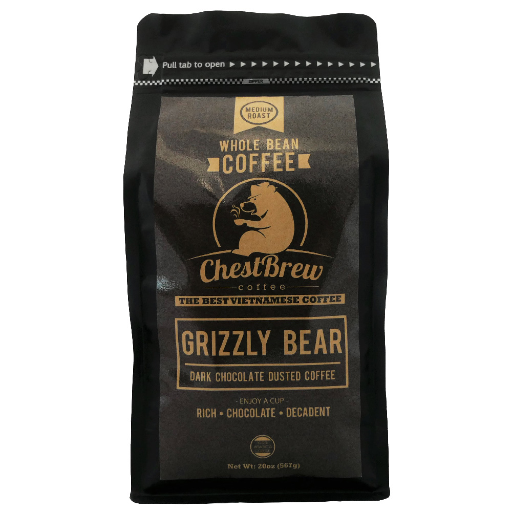 Grizzly Bear Coffee front